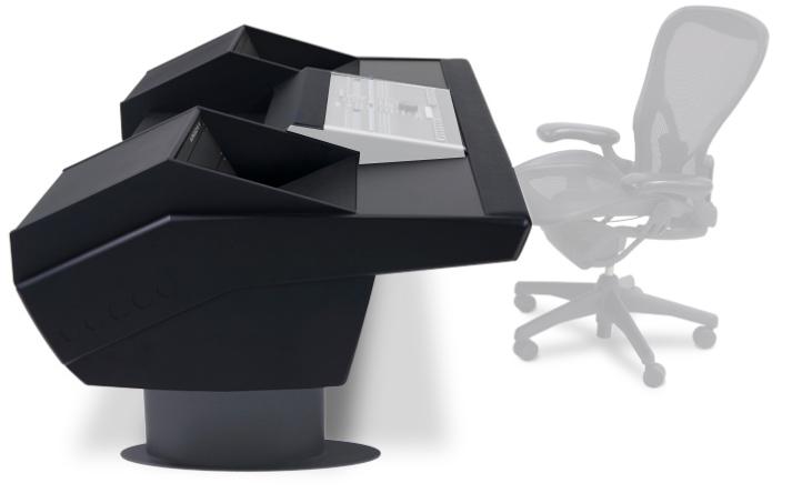 Mixer Desk for Nucleus, Black Legs