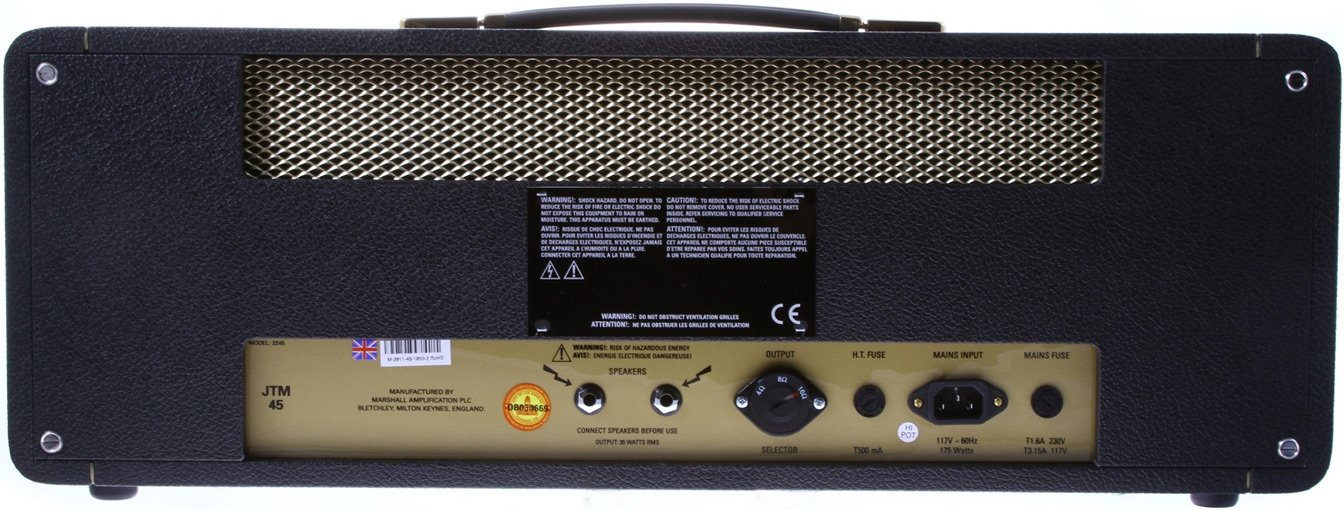 30W Tube Guitar Amplifier Head