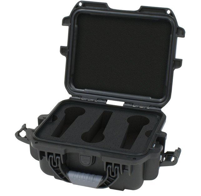 Gator Cases GM-06-MIC-WP Waterproof Microphone Case for 6 Microphones GM-06-MIC-WP