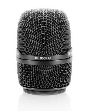 Supercardoid Condenser Microphone Head Only