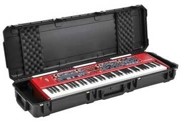 Waterproof Molded 76-Key Keyboard Case