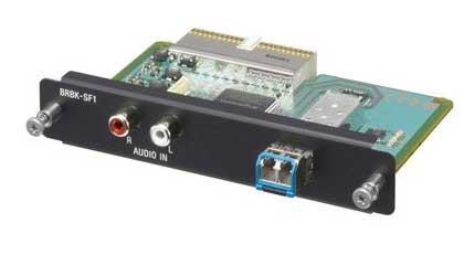 Optional HD Optical Multiplex Card for the BRC-Z330