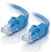 3' Cat6 550MHz Snagless Patch Cable, Blue