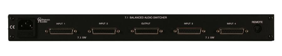 Balanced Surround Switcher