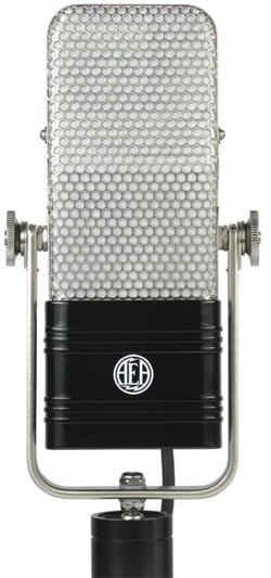 Ribbon Microphone, Satin Nickel