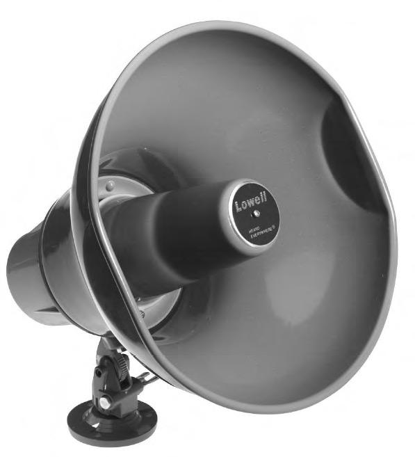 30W Double Re-Entrant Horn