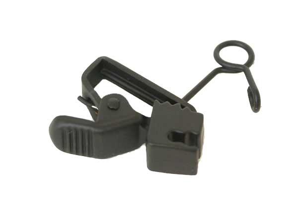 Sanken HC-11-BK  Horizontal Clip, Black, 10pk HC-11-BK