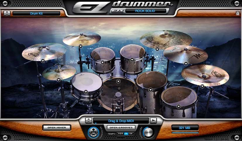 Rock Solid EZX Software Drum Expansion (Electronic Delivery)