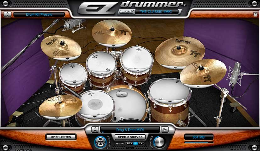 Roots SDX - Brushes, Rods & Mallets Software Drum Expansion, Boxed Version