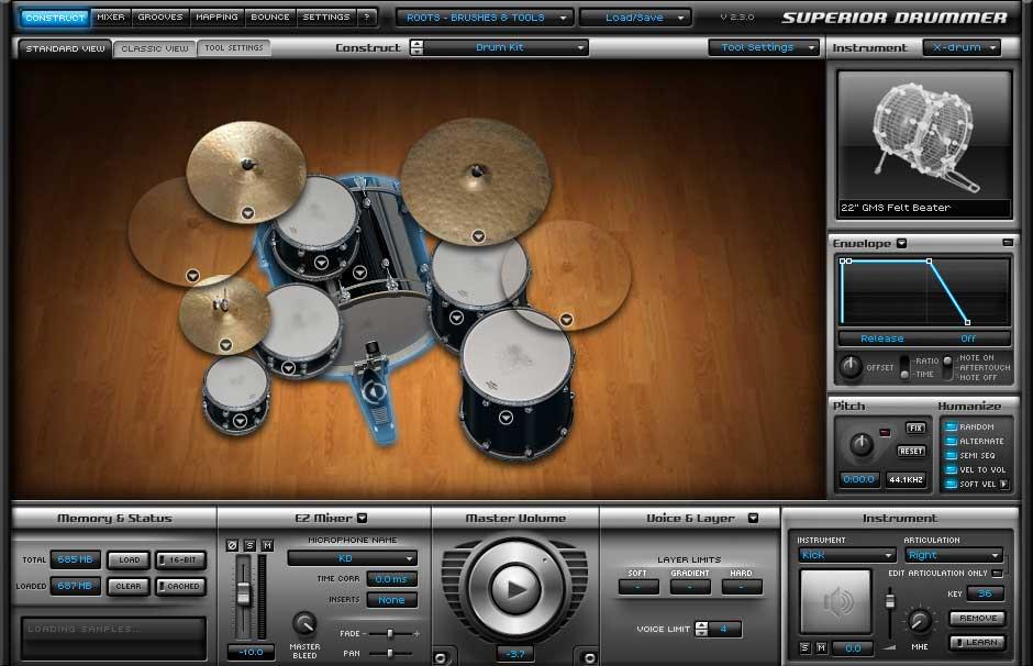 Roots SDX - Sticks, Software Drum Expansion, Boxed Version