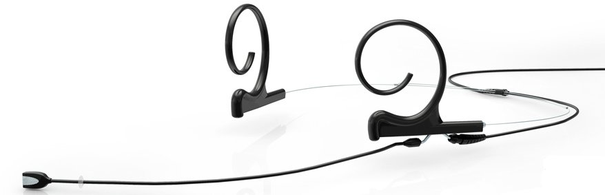 d:fine Dual Headset Microphone with TA4F Connector, Beige