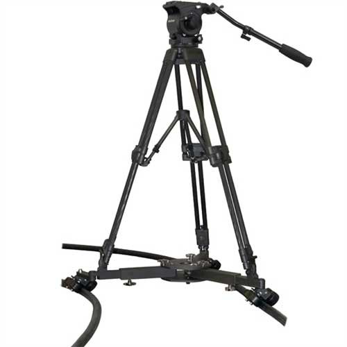 Master Cinetrac Tripod, Dolly, Flex Track Kit