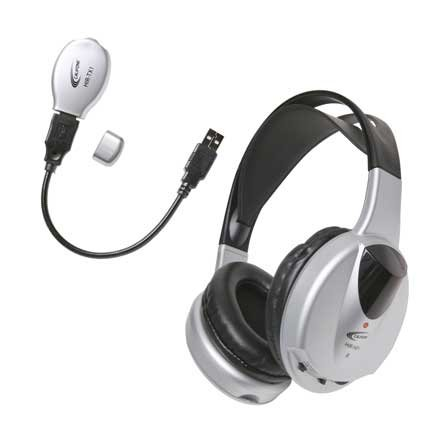 IR Wireless Headphone, with Transmitter