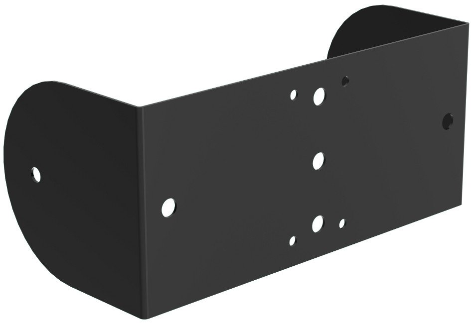 Wall/Ceiling Yoke in Black for MX10-B Loudspeaker