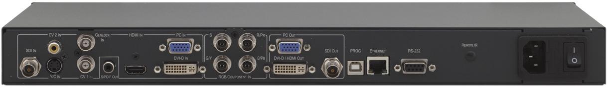 8-Input ProScale™ Genlock Presentation Scaler/Switcher