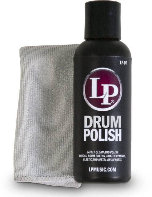 Drum Polish with Cleaning Cloth