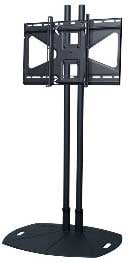 "Lightweight Floor Stand for Flatscreens with 72"" Poles & Tilting Mount"