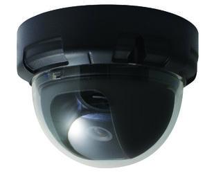 Color Dome Camera, No Power Supply