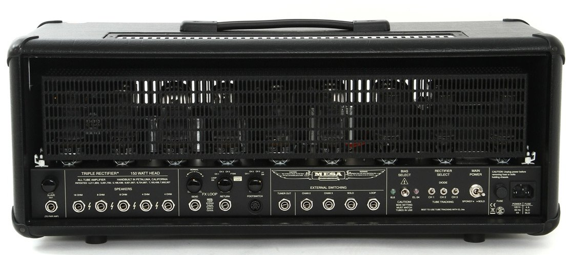 150W 3-Channel Tube Guitar Amplifier Head