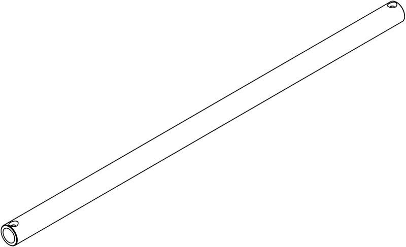 "Spacebar Modular Component, 53cm Bar, 7/8"" diameter"