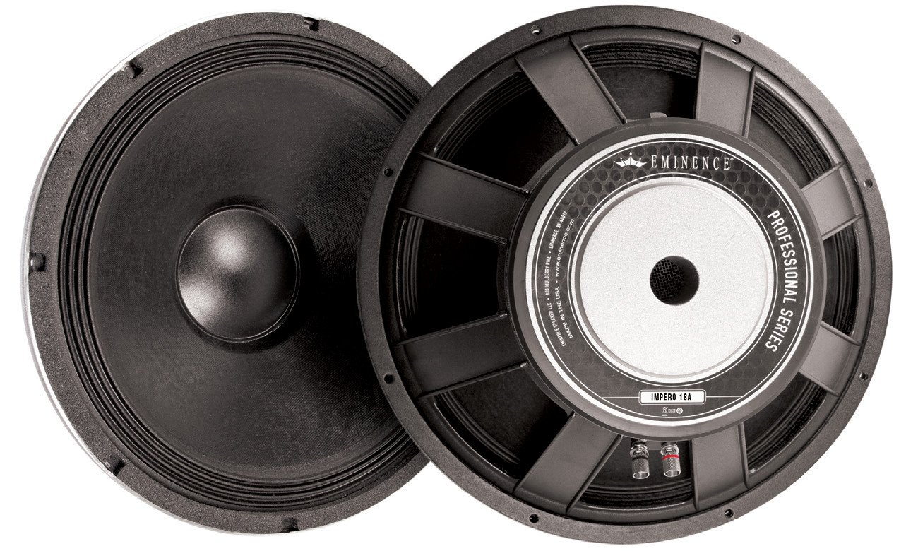 "Eminence Speaker IMPERO 18A 18"" Woofer IMPERO 18A"