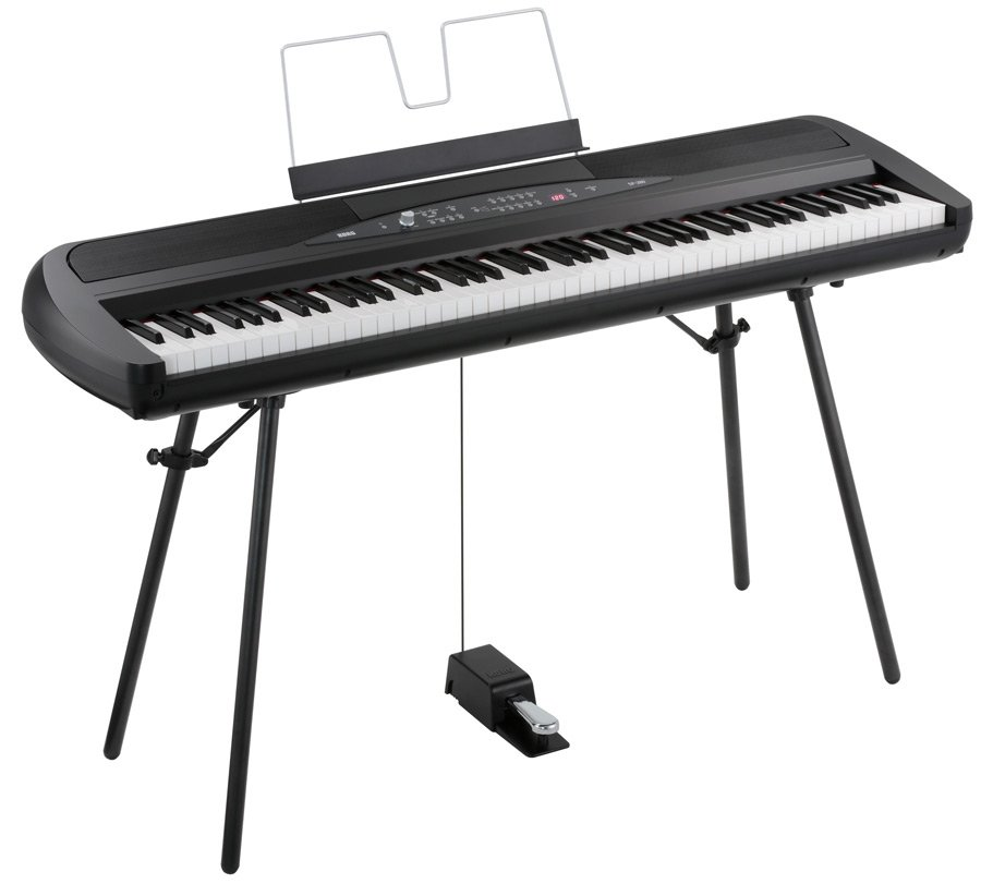 Black 88-Key Digital Stage Piano