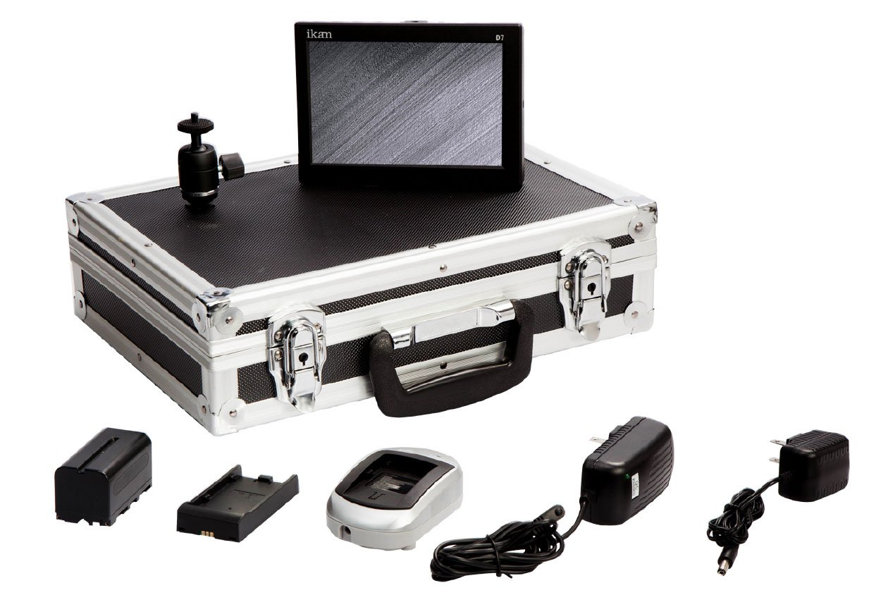 D7 Field Monitor Deluxe Kit for Canon