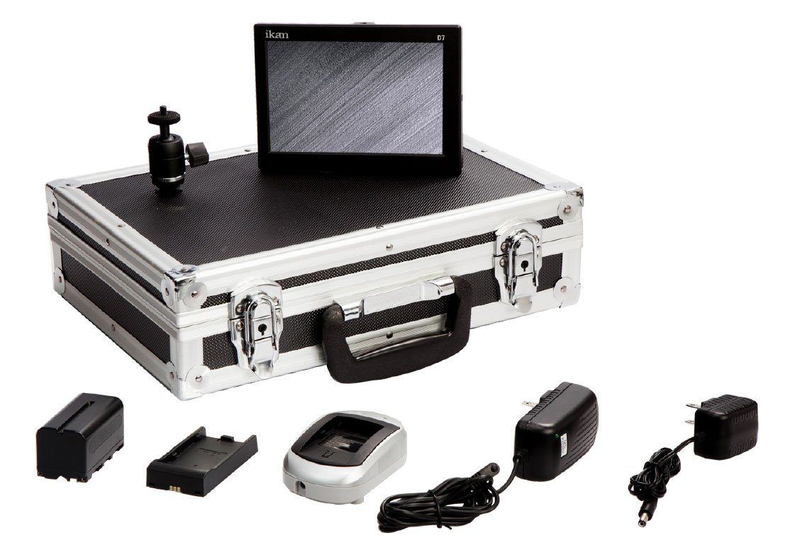 D7w Field Monitor Deluxe Kit for Canon 5D BP5-E6