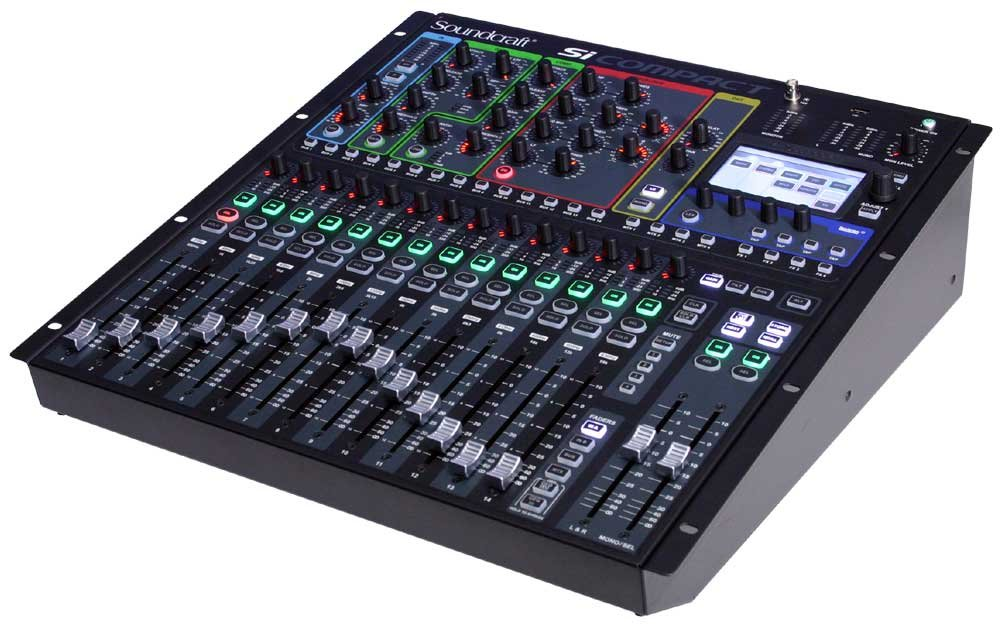 16-Channel Digital Live Sound Mixing Console