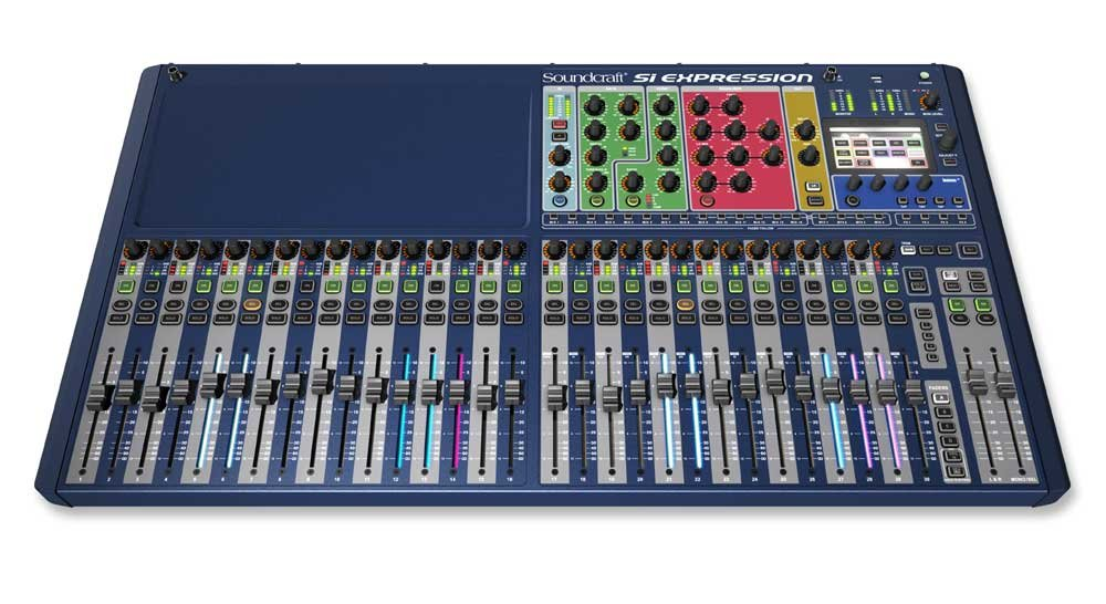Soundcraft Si Expression 3 32-Channel Digital Live Sound Mixing Console SI-EXPRESSION-3