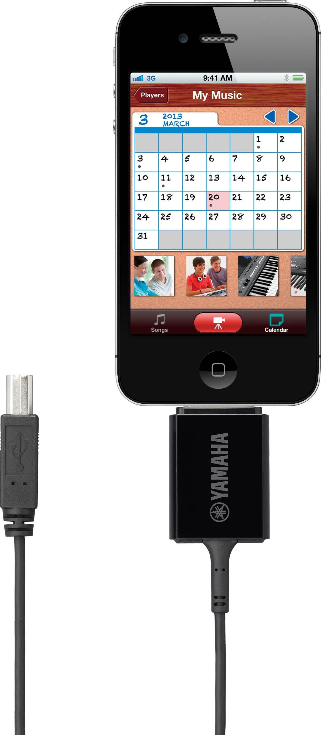 USB MIDI Interface for iPod, iPhone and iPad