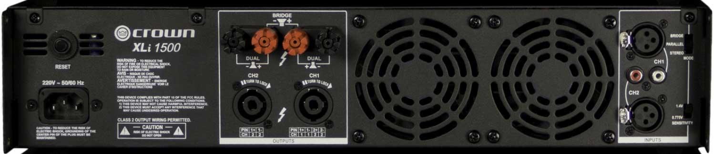 450W per Channel @ 4 Ohms Power Amplifier