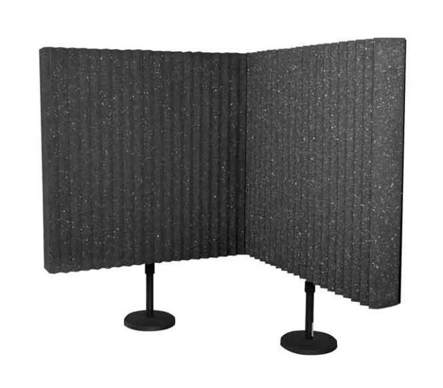"Two 2 ft x 2  ft x3"" Acoustic Panels"