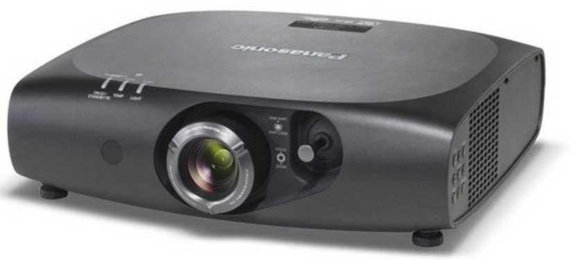 Panasonic PT-RZ470UK Full HD Projector in Black, 3500 Lumens