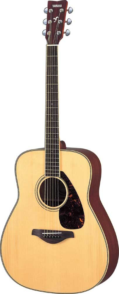 Left Handed Guitar with Natual Finish