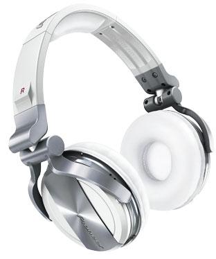 Pro DJ Headphones in White