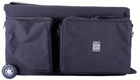 Quick-Draw Camera Case with Off-Road Wheels for Broadcast Camera and Tripod