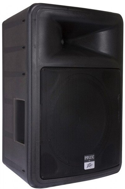 "15"" 2000W Peak 2-Way Passive Speaker in Black"