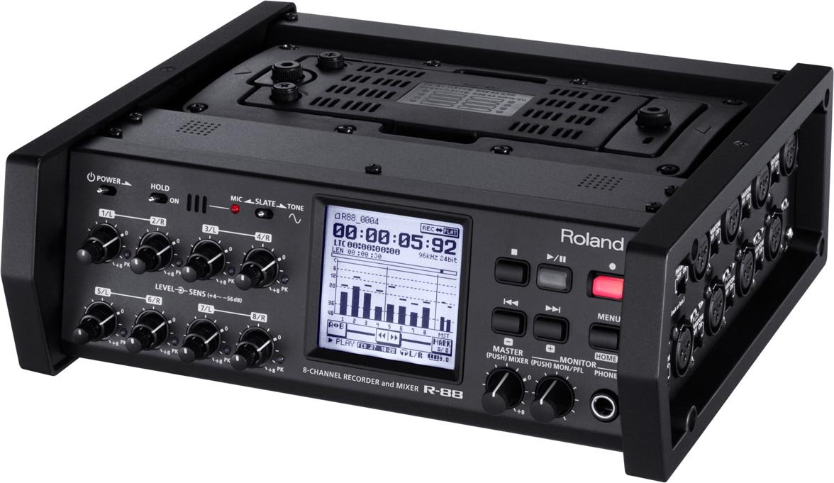 8-Channel Recorder and Mixer