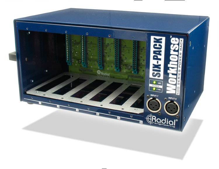 500 Series 6-Slot Desktop Power Rack