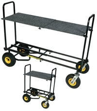 Carpeted Plywood Shelf for R-8, R-10, R-12 Multi-Cart