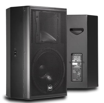"RCF C3110-96 C Series 2-Way Passive Speaker with 10"" LF, 1"" HF, 90° x 60° Horn C3110-96"