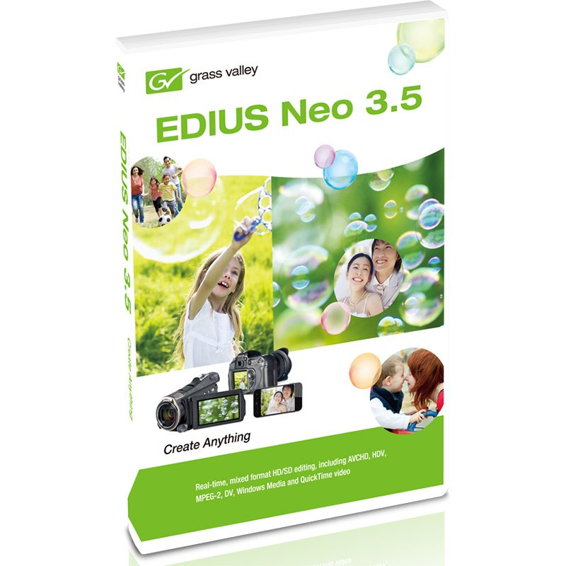 SD, HD, and 3D Multiformat Video Editing Software
