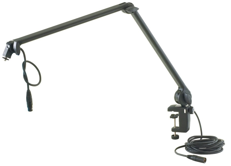 K&M Stands 23860.311.55 Adjustable Microphone Arm with Table Clamp 23860