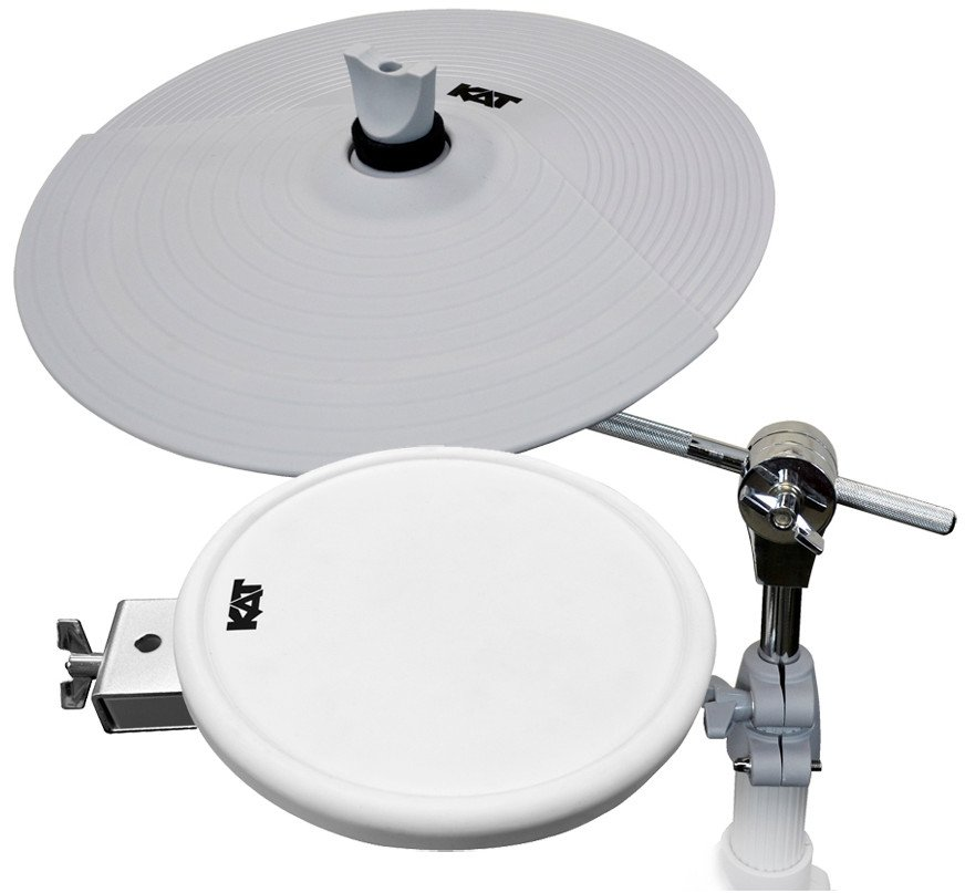 kat percussion kt2ep3 drum and cymbal pads expansion kit for the kt2 digital drum kit full. Black Bedroom Furniture Sets. Home Design Ideas