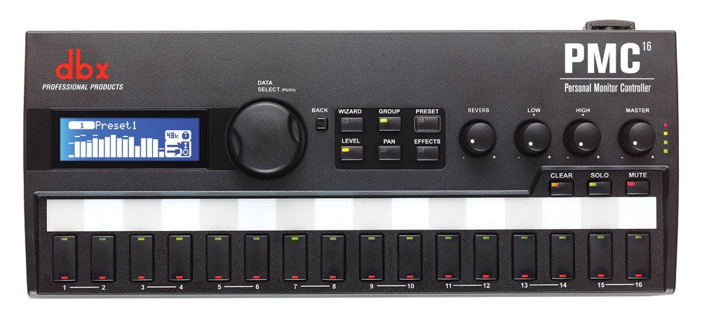 16-Channel Personal Monitor Controller
