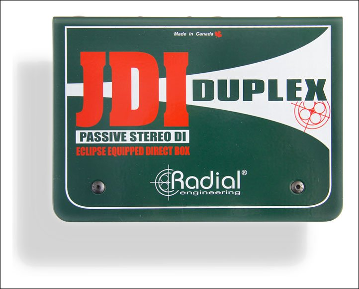 Stereo Passive DI Box