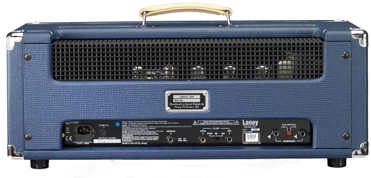 50W 2-Channel Tube Guitar Amplifier Head