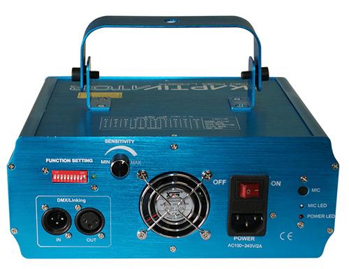 High Power Class 3R 250MW RGB Laser Effects Fixture