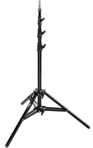 Black 8.2' Alu Baby Stand 25 with Leveling Leg